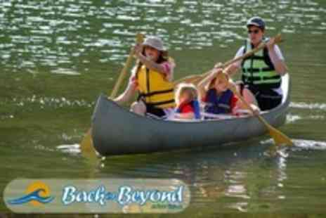Back of Beyond Adventures - Two Hours Canoeing For Four - Save 69%