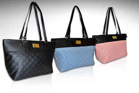 Pearl Info - Womens quilted bag choose from three colours - Save 82%