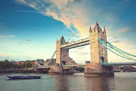 SuperBreak - One or Two night 4 Star London stay with breakfast and two course dinner - Save 0%