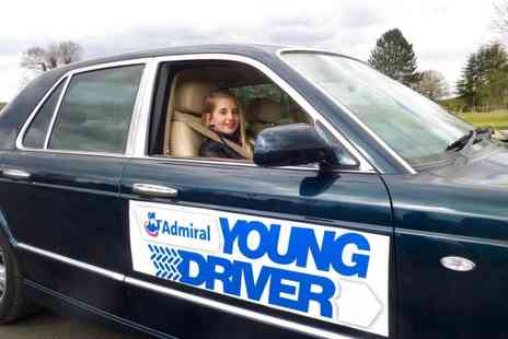 Young Driver - Bentley Arnage Driving Lesson for Children - Save 20%