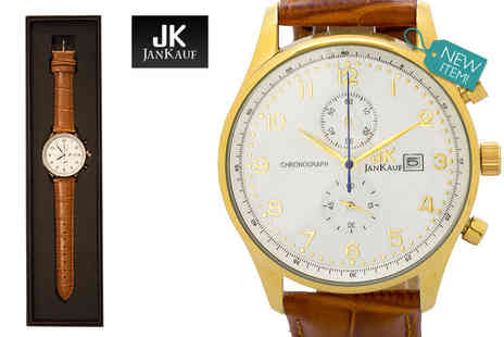 Jan Kauf - Mens JK1037 luxury watch - Save 87%