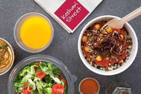 Koshari Street - Egyptian Street Food With Option of Drink For One or Two - Save 21%