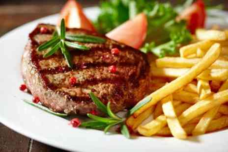 On a Roll - BYOB Steak and Chips for Two or Four - Save 16%