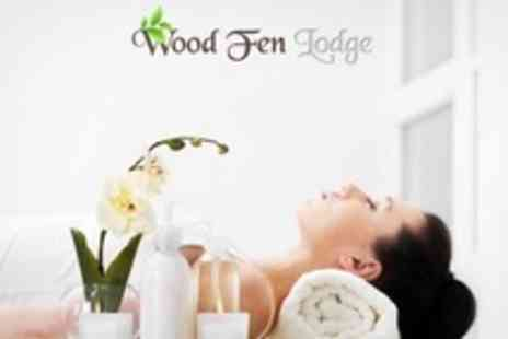 Wood Fen Lodge - Spa Experience With Lunch For Two - Save 77%