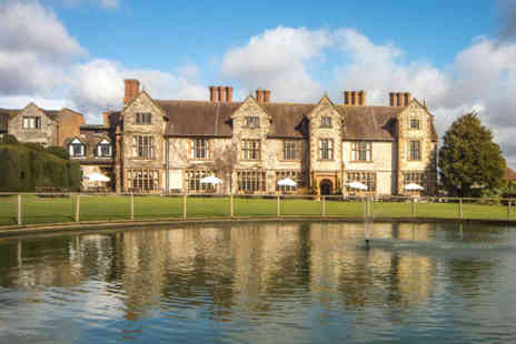The Billesley Manor Hotel - Luxury spa day for one or two with leisure access, two treatments, a hot drink and cake - Save 36%