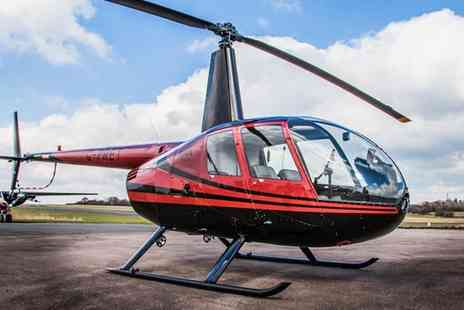 Flying Pig Helicopters - One Hour Shared Helicopter Flying Experience - Save 44%