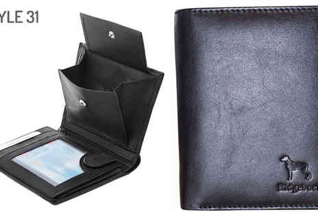 Pearl Info - Tamper Proof Mens Faux Leather Wallets in 3 Styles - Save 73%