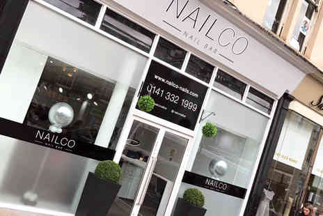 Nailco Nail Bar - Gel manicure or pedicure or both - Save 65%