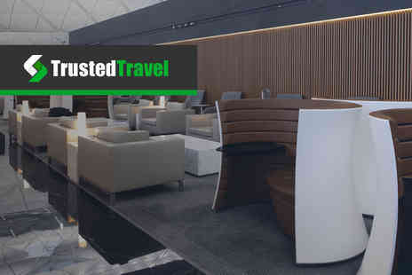 Trusted Travel - Up to 25% off an airport lounge pass at choice of major UK airports - Save 0%