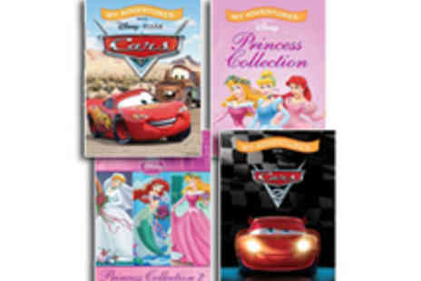 Identity Direct - Two personalised, Disney themed My Adventure Story Books - Save 52%