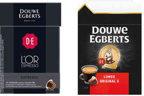 Express Coffee Retail - 50 x Douwe Egberts Nespresso Pods in 9 Flavours - Save 0%