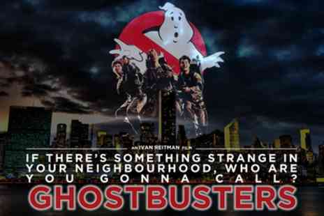 Outdoor Cinema - One or two adult tickets to Halloween Outdoor Cinema Special Ghostbusters on 29 October - Save 0%