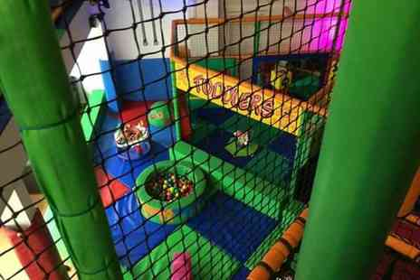 KATC Go Wild - Unlimited soft play time plus pizza and juice for two children - Save 71%