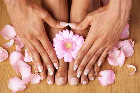 Active Clinic - Shellac Manicure or Pedicure or Both - Save 35%