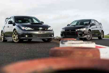 Drift Limits - Subaru Vs Evo Driving Experience for One or Two - Save 55%