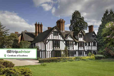Nailcote Hall Hotel - Overnight stay for two including a glass of Prosecco on arrival, spa access and breakfast the next morning - Save 0%