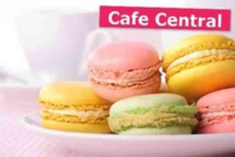 Cafe Central - Macaron Making Workshop With Tea and Cakes For One - Save 27%
