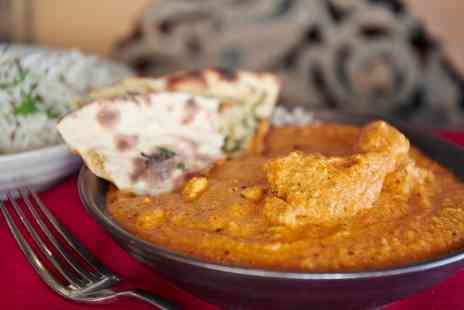 Ushas East Kilbride - Three or Six Curry Dishes with Rice and Naan for Two or Four - Save 58%