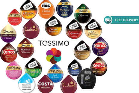 Eurovista2010 - Pack of 23 Tassimo T discs in assorted flavours plus Delivery is Included - Save 75%
