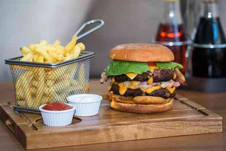Thehideaway Bar - Burger and Pint of Beer for One or Two - Save 62%