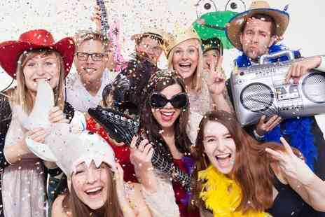 Photobooth Legend - Two hours of photobooth hire with attendant and props - Save 0%