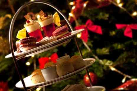 The Colonnade - Christmas Afternoon Tea for with Mulled Wine or Bubbly for Two or Four - Save 52%