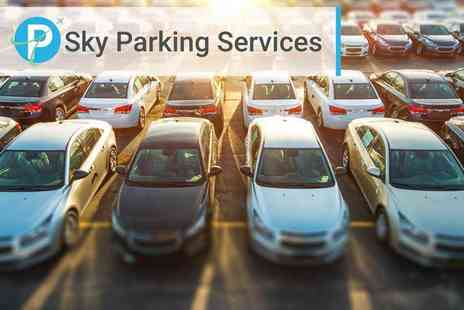 PSky Parking Services - Up to 30% off meet and greet airport parking or up to 25% off park and ride parking - Save 0%