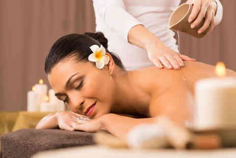 Healing Touch Academy - One hour hot oil massage or include a 30 minute facial - Save 0%