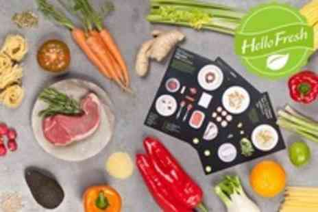 Hello Fresh - Three Meals Worth of Fresh Ingredients Home Delivered For Four People - Save 68%