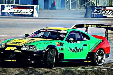 Learn 2 Drift - Drifting Experience with Three or Six Passenger Laps - Save 57%