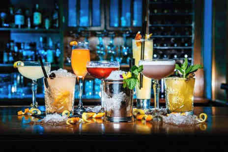 Radisson Blu - Choice of four cocktails for two and bar nibbles - Save 53%