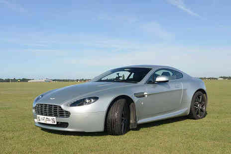 Supercar Test Drives - Three or six lap James Bond Aston Martin driving experience - Save 74%