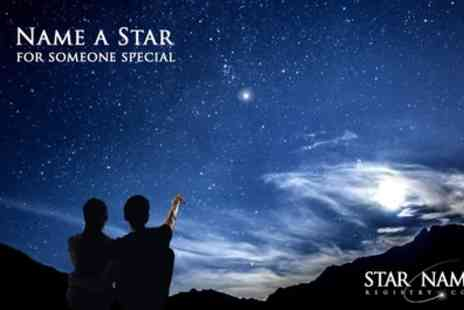 Star Name Registry - Name an Extra Bright Star Package with Delivery - Save 48%