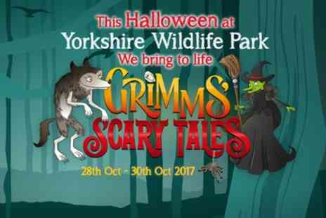 Yorkshire Wildlife Park - Scary Tales: Halloween Safari Experience on 28 To 30 October - Save 50%