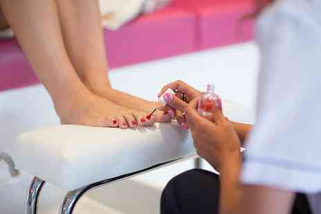 Serenity - Gel Polish Pedicure, French Gel Manicure or Both - Save 0%