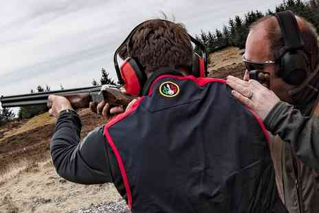 Central Scotland Shooting School - Clay Pigeon Shooting with 25, 50 or 100 Clays and Introduction Lesson - Save 0%