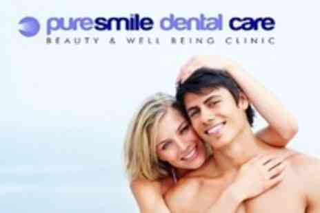 Puresmile Dental Care - Two Laser Teeth Whitening Sessions - Save 90%