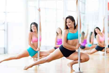 Bristol Pole Athletes - 12 Week Beginners Pole Fitness Course for One or Two - Save 55%