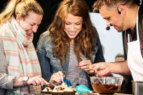 Foodies Festival - Edinburgh festive food festival entry for 2 - Save 61%