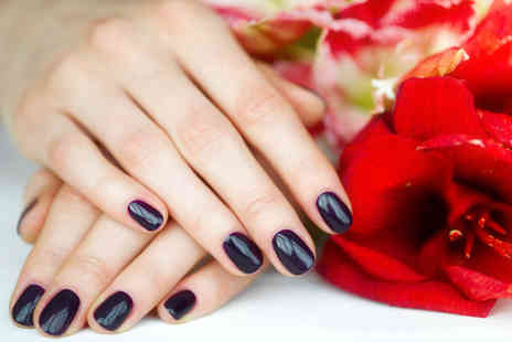 Perfect Pout Salon - Shellac manicure or pedicure or both - Save 55%
