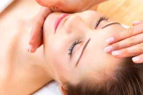 Relax Island - 30 Minute Head Massage with Optional 30 Minute Back, Neck and Shoulder Massage - Save 52%
