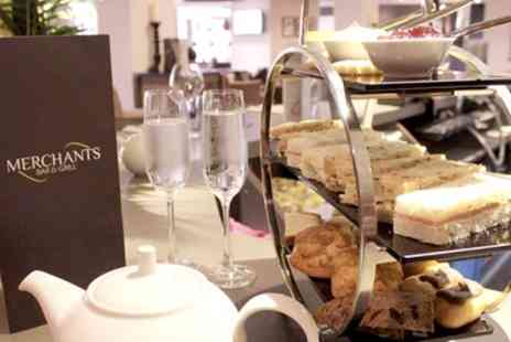 Samlesbury Hotel - Christmas Themed Afternoon Tea with a Glass of Bubbly for Two or Four - Save 39%