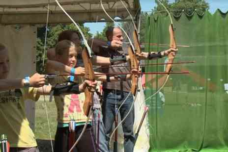 Active Nation - 90 Minute Archery Experience for Two or Four with Active Nation - Save 50%