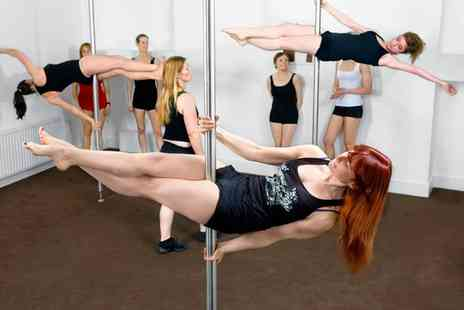 Bristol Pole Athletes - One or Five Pole Fitness Classes for One or Two - Save 52%