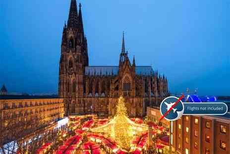 SuperBreak - Three night, full board 4 Star German festive cruise with stops in Cologne, Koblenz and Dusseldorf - Save 0%