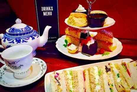 Saint Judes - City Centre Intoxicating Afternoon Tea for Two - Save 35%