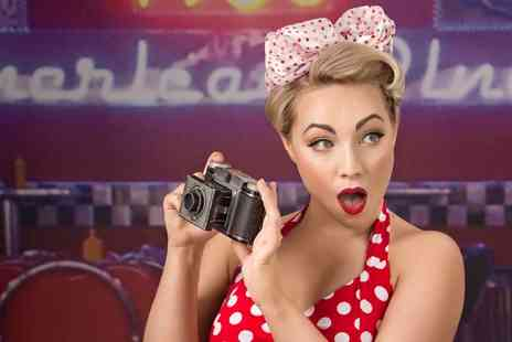 Colin Charles Photography - One Hour 50s PinUp or Boudoir Photoshoot - Save 0%