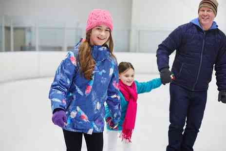 Whilton Locks Garden Village - Christmas Ice Skating with Pie and Hot Chocolate for One or Four - Save 0%
