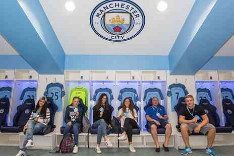 Manchester City Football Club - Manchester City FC Stadium and Club Tour with Souvenir Photo - Save 30%