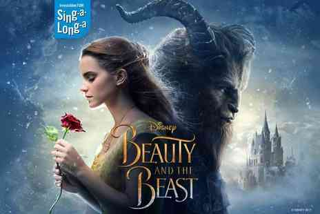 Singalonga Productions - Ticket to see a sing along showing of Beauty and the Beast on 24th, 25th or 28th October - Save 44%